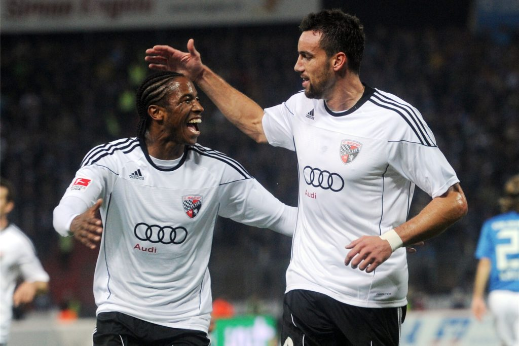Zehn Jahre lang war Malte Metzelder (r.) beim FC Ingolstadt tätig - erst als Spieler, dann als Assistent der Geschäftsführung.