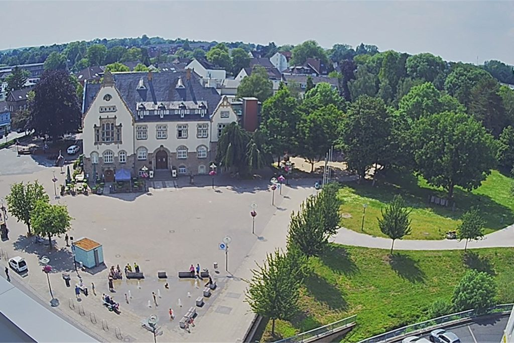 Ein Screenshot der Webcam in Aplerbeck. Die Taten wären gut zu erkennen gewesen.