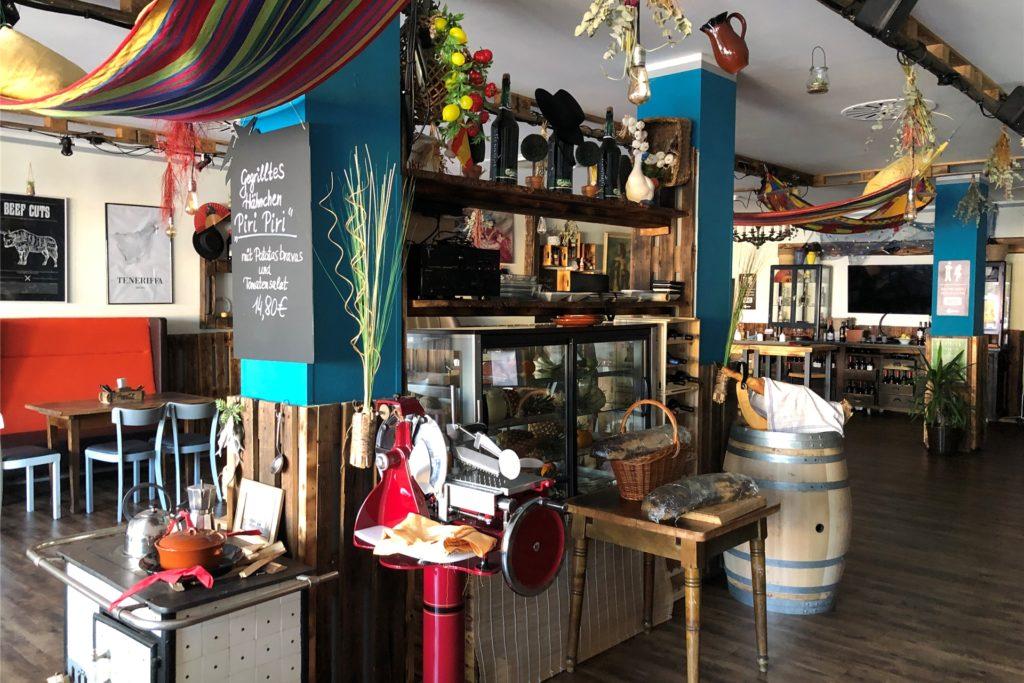 Das Innere des Restaurants