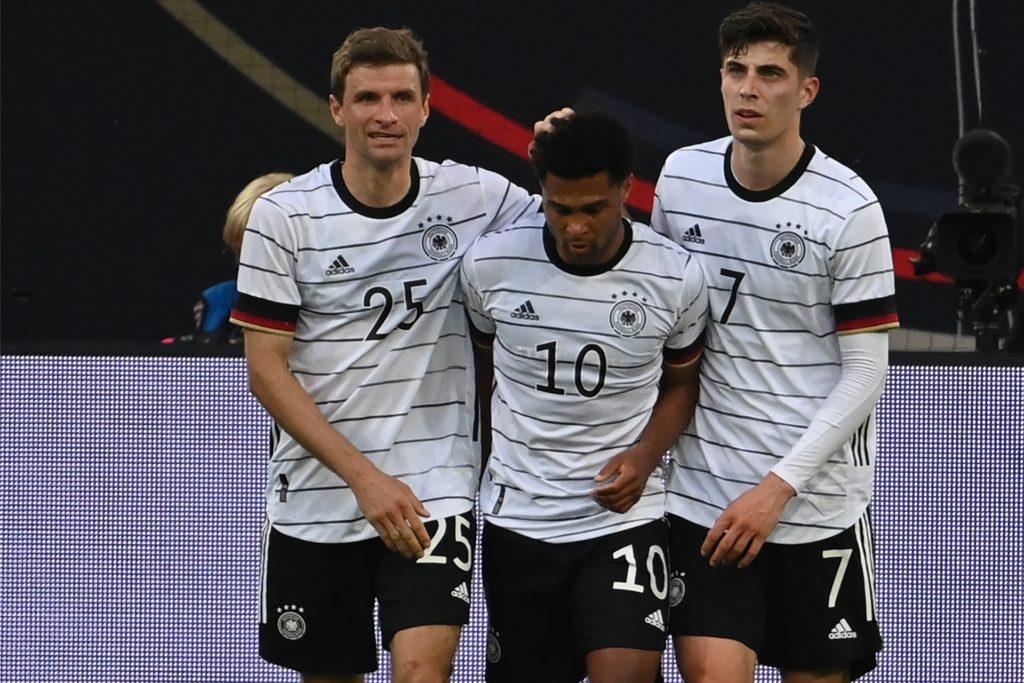 Sind bei allen drei Halterner Trainern nicht aus der Startformation wegzudenken (v.l.): Thomas Müller, Serge Gnabry und Kai Havertz.