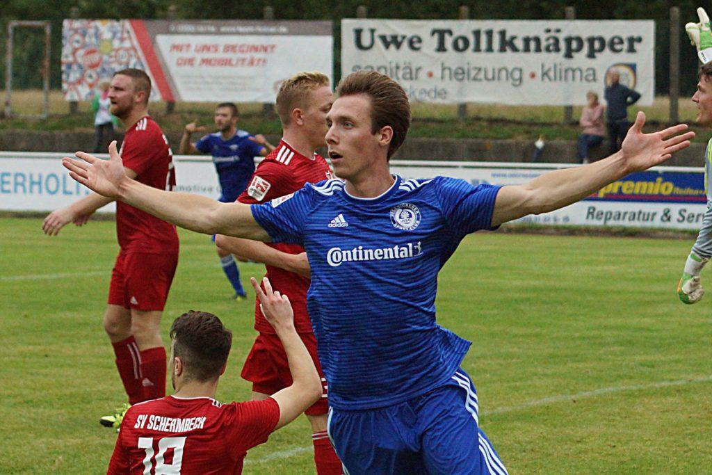 Immer für einen Treffer gut: Stürmer Sebastian Hahne orientiert sich neu und verlässt den Holzwickeder SC.