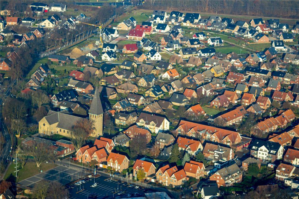 Sythen ist Halterns größter Ortsteil und als Wohnort sehr beliebt.