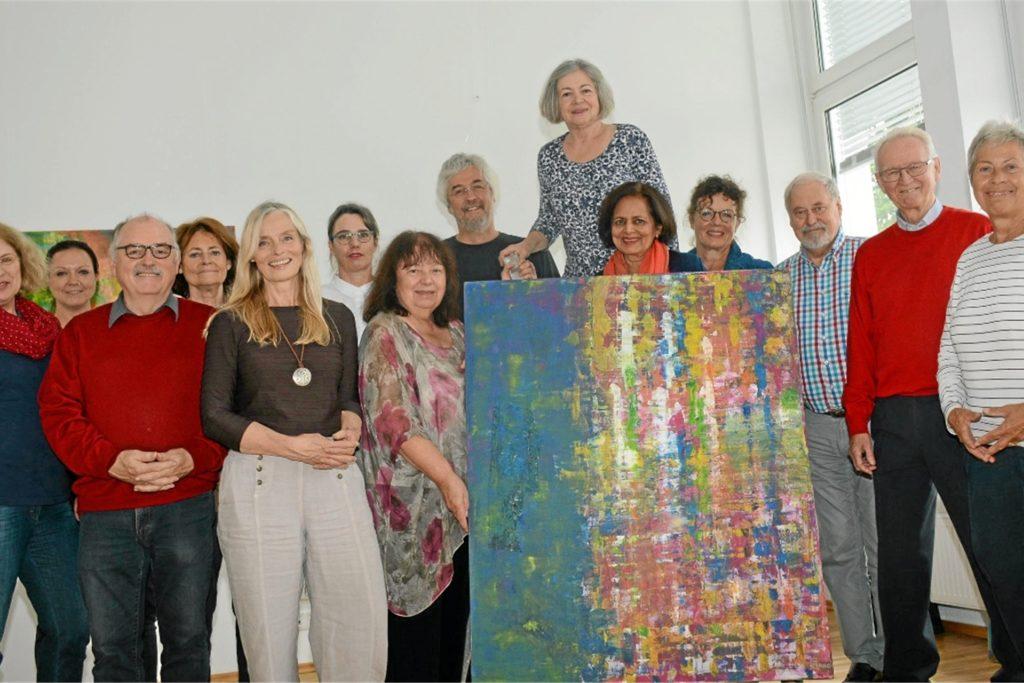 Bislang fand die Kunstroute (hier ein Archivbild von 2017) im Quarzhaus statt, in diesem Jahr laden die Künstlerinnen und Künstler vom Kunstverein
