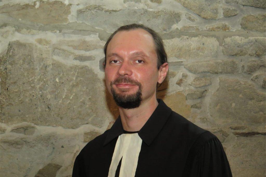 David Raasch (36) ist seit 2015 Gemeindepfarrer in Witten-Herbede.