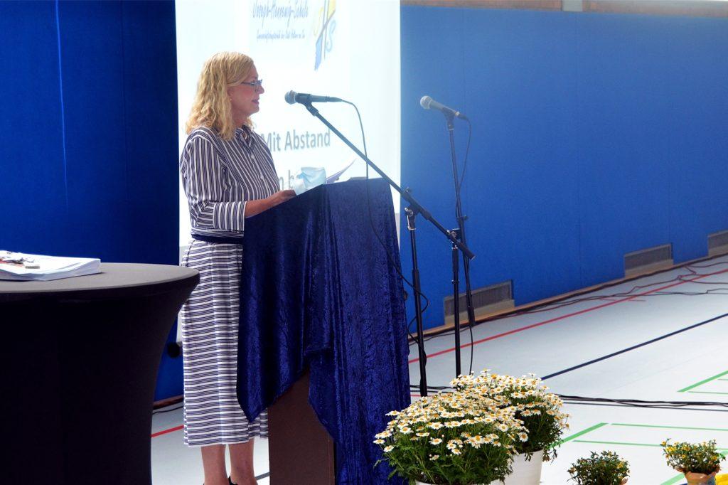 An der Hauptschule sorgten Krankheitsfälle für keine Multiplikatoren, erklärte Dagmar Perret.