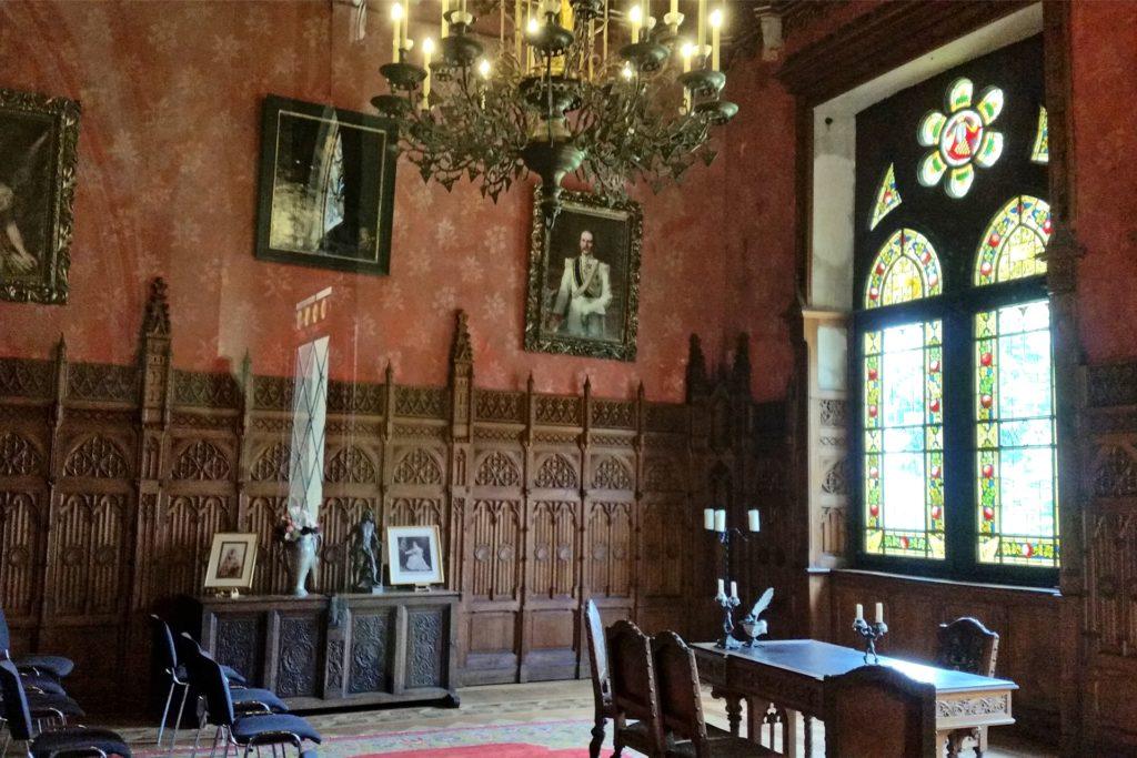 Der prachtvolle Ernst-August-Salon dient heute unter anderem als Trauzimmer.
