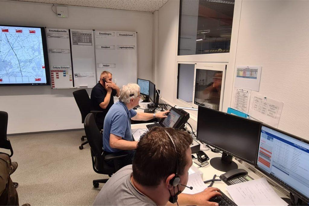 Um 16 Uhr gab die Leitstelle Unna die Anweisung, die Werner Wache (Foto) zu besetzen. 18 Minuten später ging der erste Hilferuf ein.