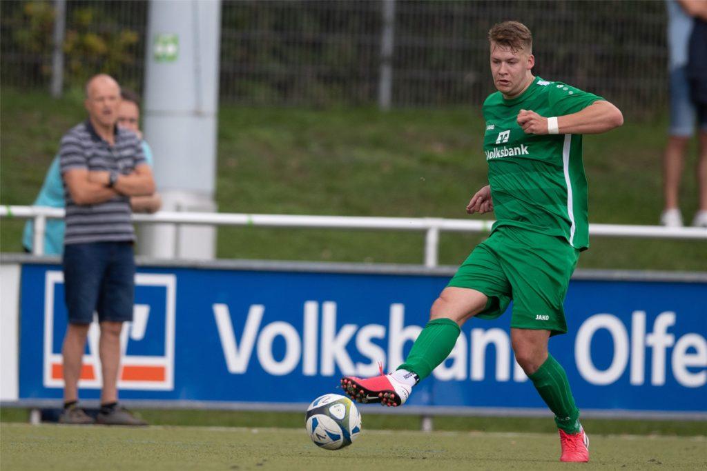 Niels Kleischmann stieg mit dem SuS Olfen 2015 in die Bezirksliga auf.