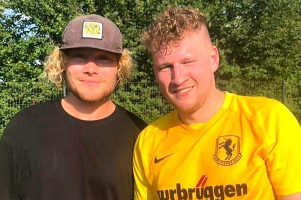 Ein torgefährliches Duo: Martin Herbort (rechts) stürmt wieder zusammen mit Thilo Ernst, wenn der gerade nicht auf Auslandsreise ist.