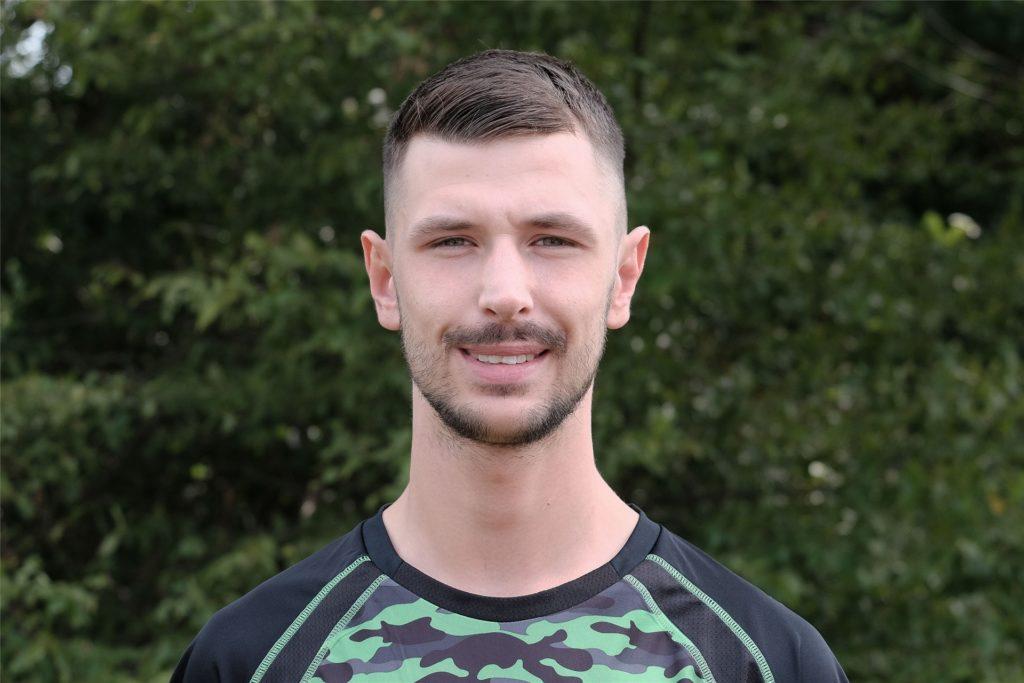 Miguel Garrido, geht in der Zukunft wieder für den SuS Schwarz-Blau Gladbeck auf Torejagd.