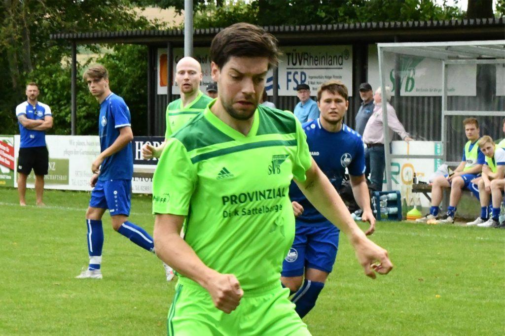 Torjäger Sebastian Andree traf gleich wieder nach seiner Rückkehr zum SV Bausenhagen.