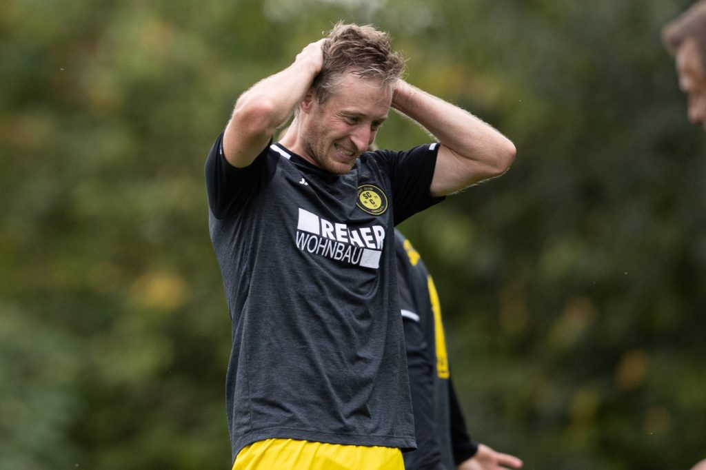 Andreas Winkler musste verletzte ausgewechselt werden.