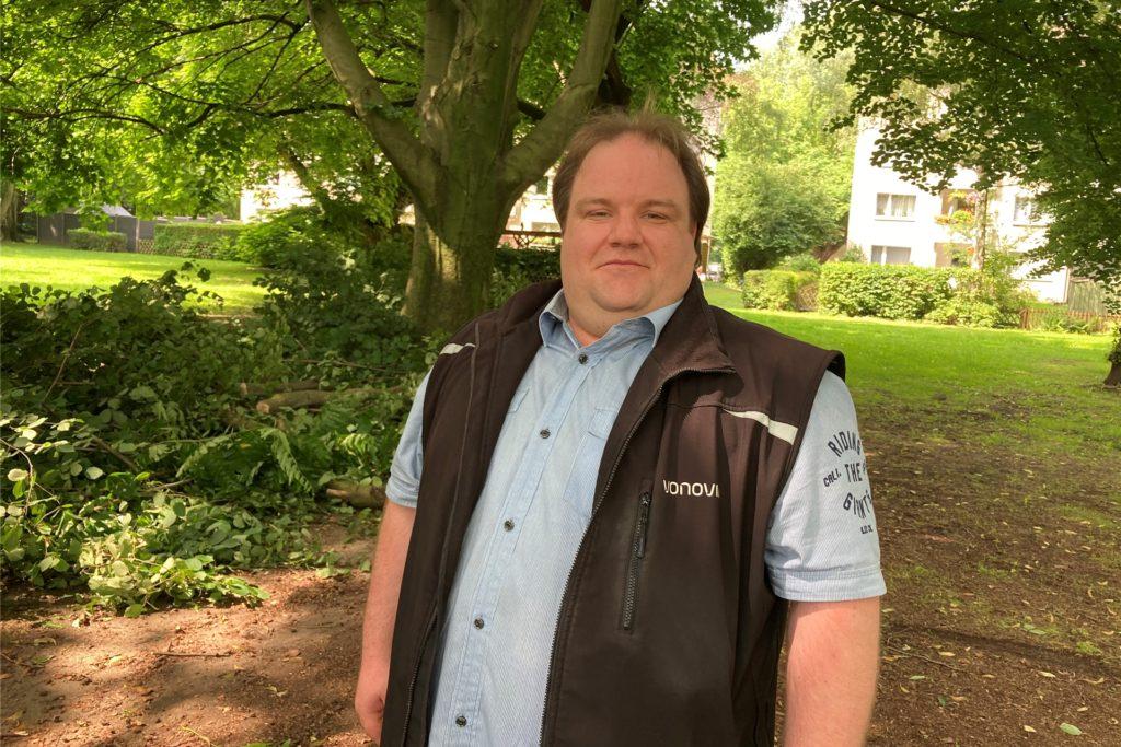 Nicolas Meininghaus ist der Kampfmittel-Experte der Vonovia. Auch in seiner Freizeit beschäftigt er sich mit Sprengstoff.