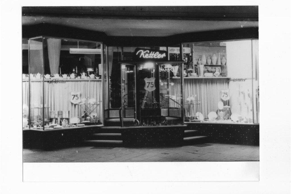 Im Jahr 1961 feierte man in der Hüsingstraße das 75-jährige Bestehen der Firma Kettler.