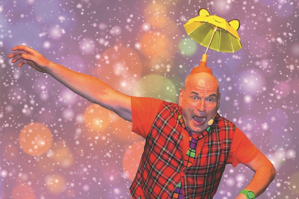 Clown Georg ist Teil des bunten Programms.