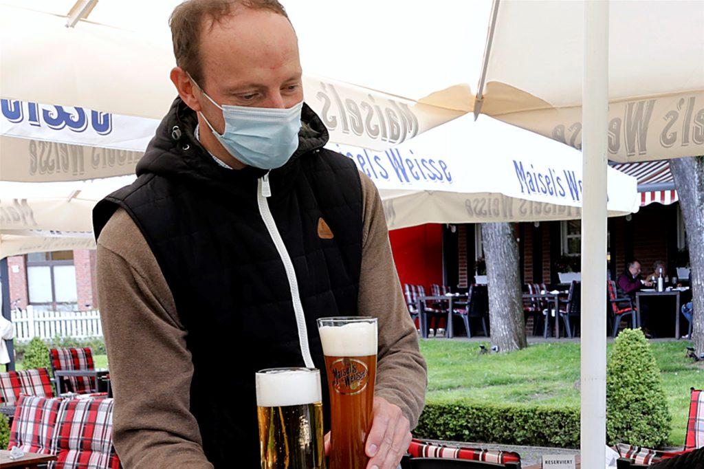 Stephan Föcker vom Landhaus Föcker blickt zurzeit vorsichtig optimistisch in den Zukunft.