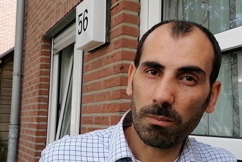 Yüksel Aktepe berichtet, welche Folgen der Brand für seine Familie hat.