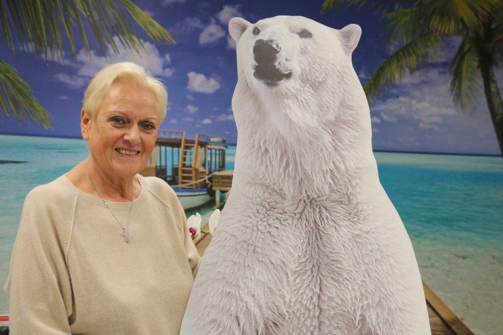 Heidrun Wagner-Peters aus dem Reisebüro Wagner hat viele Reisen nach Griechenland verkauft. Die Kunden werden sich vor Ort vielleicht Temperaturen wie am Nordpol wünschen - es sind Temperaturen jenseits der 45-Grad-Marke angekündigt.