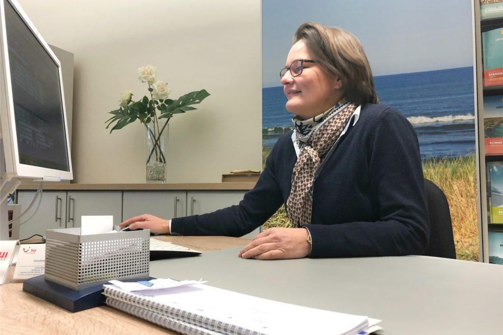 Dorothee Wiewel vom Reisebüro Wiewel hat bisher noch keine Stornierungen für Spanien verzeichnet. Dafür aber eine Umbuchung von der Türkei nach Spanien.