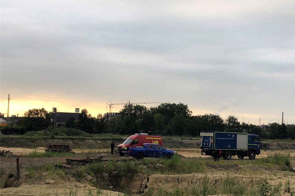 Auf dieser Baustelle an der Dürener Straße ist der Bomben-Blindgänger am späten Montagnachmittag entdeckt worden.