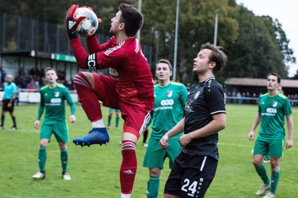 Marvin Niehaus hütet schon seit vielen Jahren das Tor des SV Lippramsdorf und hat schon viele Derbys miterlebt.
