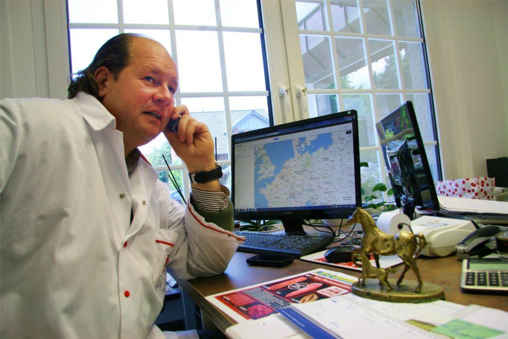 Marko Mecke ist Chef des alteingesessenen Werner Familienunternehmens.
