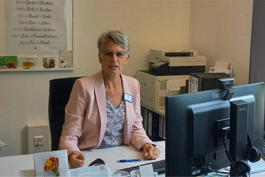 Ulrike Roß ist Geschäftsführerin der Katholischen Altenwohnhäuser St. Anna und St. Sixtus in Haltern.