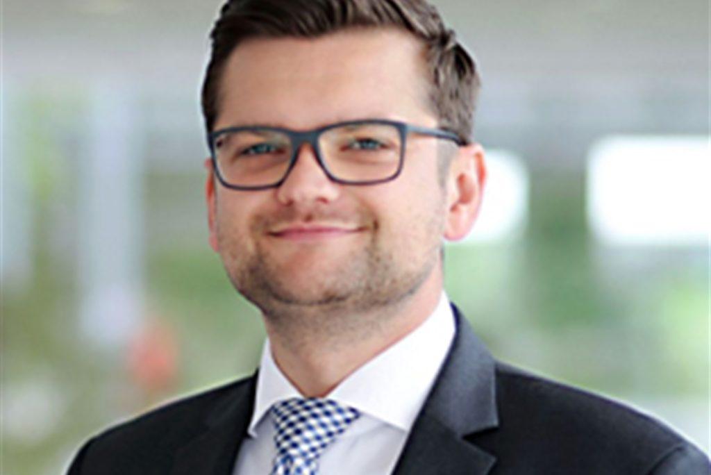 Dr. Daniel Napieralski-Rahn, Kaufmännischer Direktor für die Betriebsleitung der LWL-Klinik Marl-Sinsen