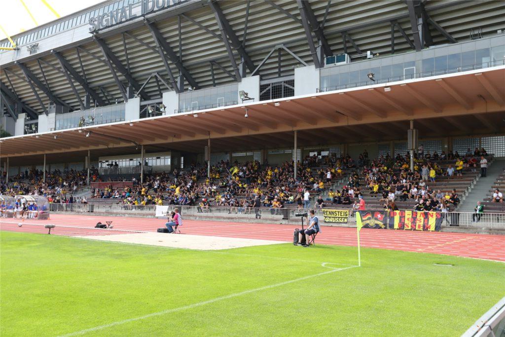 1079 Zuschauer waren im Stadion Rote Erde, um den BVB II gegen Saarbrücken zu sehen. Einen neuen Fan hat der BVB aber beim Gegner gewonnen.