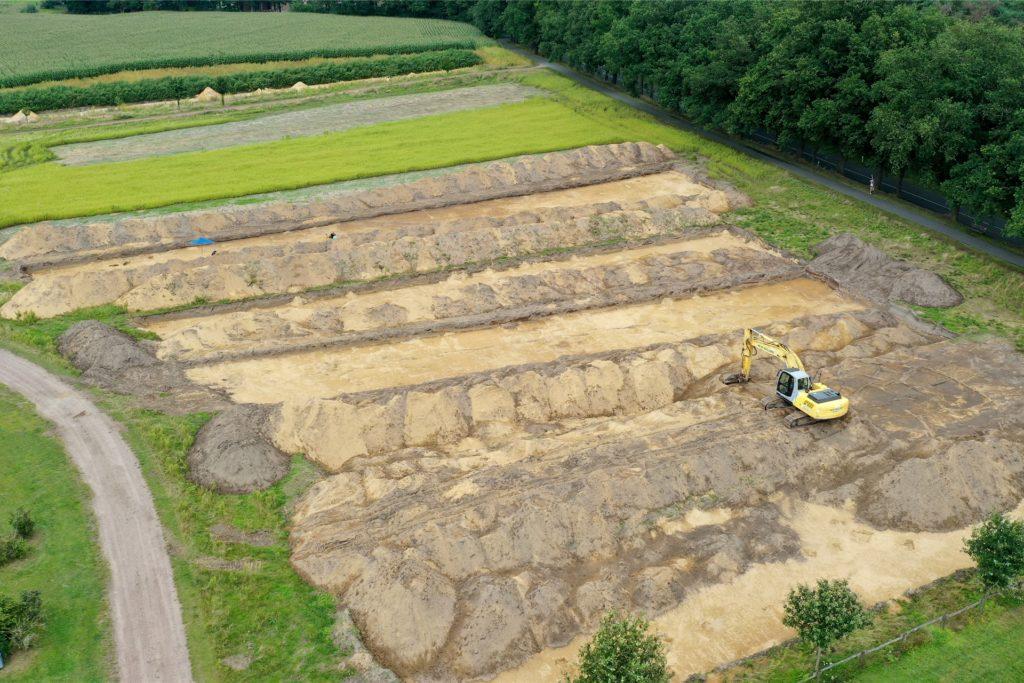 Wann der Bau des Wohnmobilstellplatzes in Olfen beginnen kann, ist noch unklar.