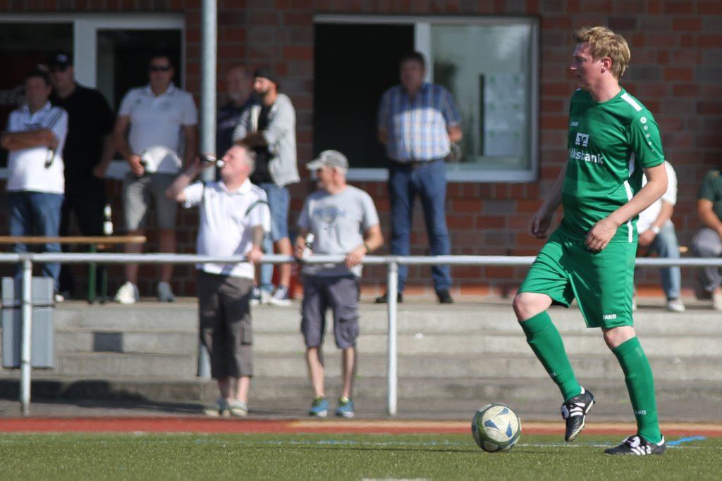 Christian Brüse stand am Sonntag überraschend nochmal für die Erste Mannschaft auf dem Platz.