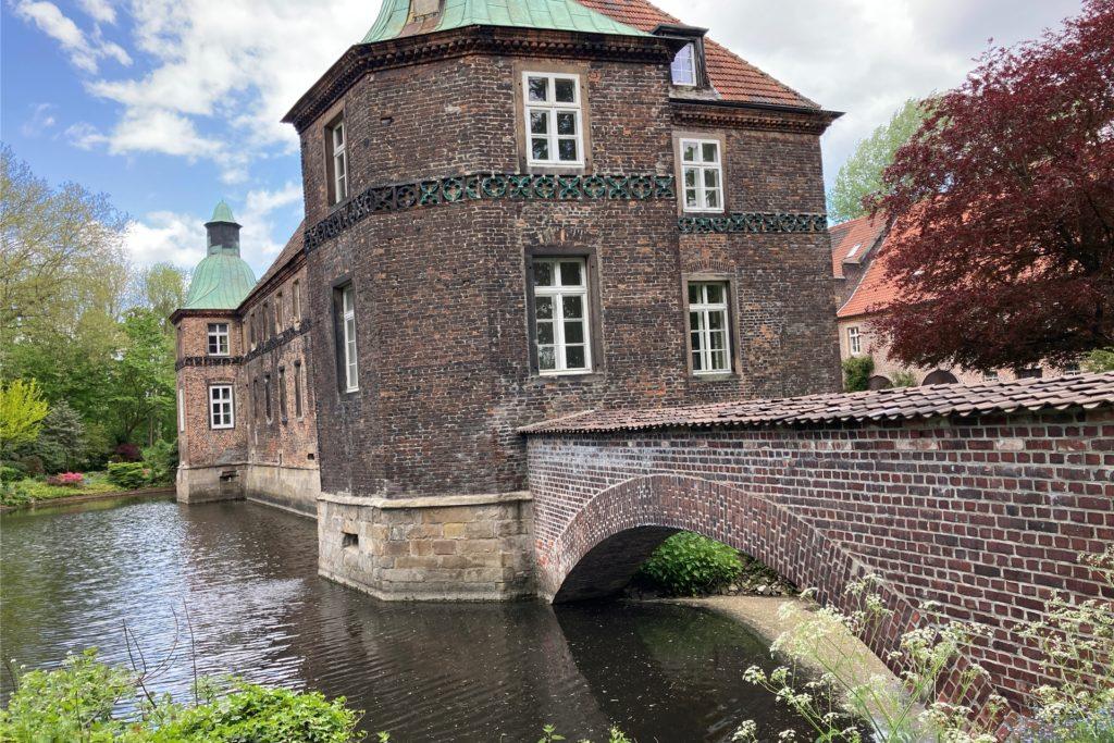 Beim Tag des offenen Denkmals kann hinter die Türen von Schloss Bladenhorst geblickt werden.