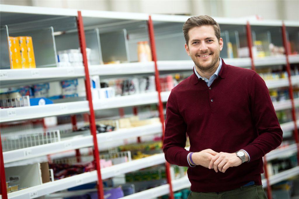 Fredric Knaudt ist der Deutschland-Chef von Picnic. Der Online-Lebensmittelhändler ist im Corona-Jahr 2020 stark gewachsen.