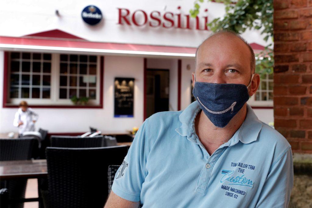 Christian Zehren, Sprecher des Halterner Hotel- und Gaststättenverbandes, hat in seinen Lokalen nichts verändert.